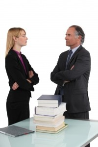 Disagreement in office