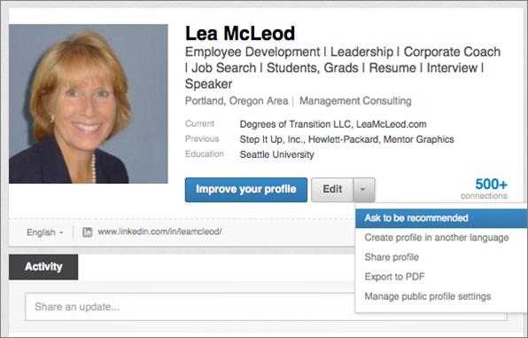 Linkedin Lea McLeod
