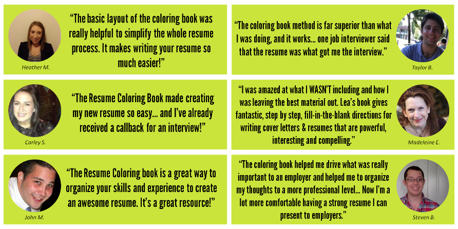 heres what others say after using the resume coloring book online course